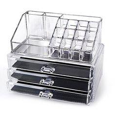 Miroir range bijoux boites de rangements maquillage - Rangement maquillage tiroir ...