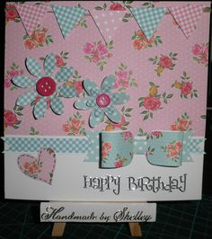 Haberdashery die set by First Edition (Trimcraft). Backing paper ...