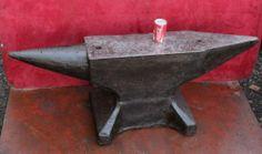 Massive German 630 lbs 286 KG Blacksmith Anvil Forge Iron Shipping USA 750 USD | eBay