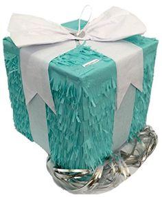 Square Gift Box Pull Strings Pinata Everybodylovespinatas http://smile.amazon.com/dp/B011Z6WP0K/ref=cm_sw_r_pi_dp_Ub51wb10WQT2R