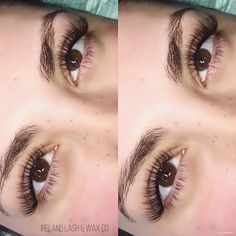 Useful Guide To Eyelash Extensions: Russian Lashes? – My hair and beauty Eyelash Extension Removal, Eyelash Extensions Styles, Longer Eyelashes, Long Lashes, Russian Volume Lashes, Korean Makeup Tips, Filling In Eyebrows, Eyelash Serum, Best Lashes