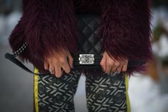 Best Street Style Shoes and Bags NY Fashion Week Fall 2014 ----  Get Up Close With Street Style's Best Accessories >>> Can't go wrong with a classic.