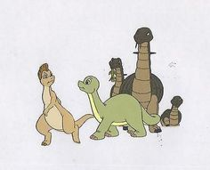 Dink the LIttle Dinosaur production animation cel Ruby-Spears 2*