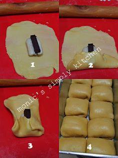 Bread Recipes, Cake Recipes, Snack Recipes, Cooking Recipes, Snacks, Indonesian Desserts, Indonesian Food, Indonesian Recipes, Malaysian Chicken Curry
