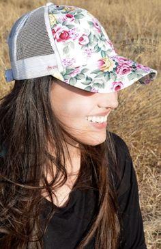62edf039070 Rose queen white cap. Rose HatWhite RosesWhite Baseball ...