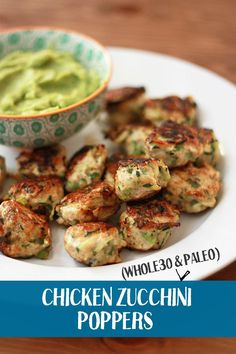 Chicken & Zucchini Poppers (Paleo & Whole30 Approved!) - One Lovely Life