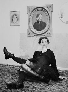 Meret Becker, Sängerin und Schauspielerin, Berlin 2014