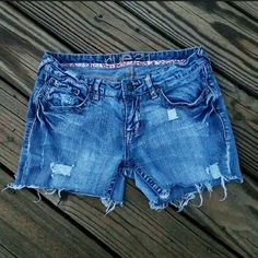 Rue 21 Jean Shorts Wardrobe must have! Distressed cut off jean shorts. Rue 21 Shorts Jean Shorts