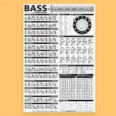 Bass Guitar Strings 4 String Set Bass Guitar Exercises For Dummies Bass Guitar Scales, Bass Guitar Notes, Bass Guitar Chords, Guitar Chord Chart, Bass Guitar Lessons, Guitar Strings, Music Guitar, Acoustic Guitar, Music Lessons