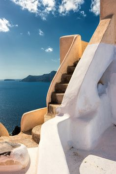 Stair to Sky - Oia, Santorini