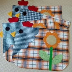 1 million+ Stunning Free Images to Use Anywhere Mug Rug Patterns, Quilt Patterns, Craft Projects, Sewing Projects, Chicken Crafts, Place Mats Quilted, Patchwork Cushion, Table Runner And Placemats, Quilting For Beginners
