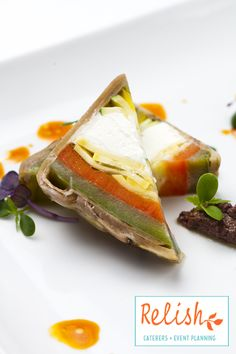 Vegetable Terrine from Relish Catering + Event Planning- www.relishcaterers.com