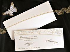 ® Esküvői Meghívó - Virág Motívumokkal / Esküvői meghívó 150-200 Ft