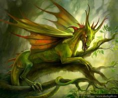 Forest Dragon. I think he's very Pantheresque.