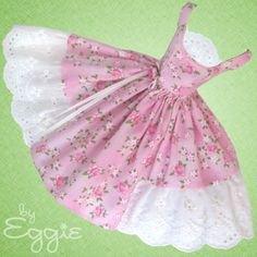 Sweet & Summery - Vintage Reproduction Repro Barbie Doll Dress Clothes Fashions #Fanfare