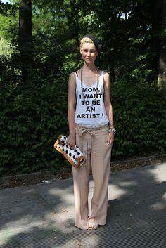 Love her look - Berlin based stylist Julia Brumm