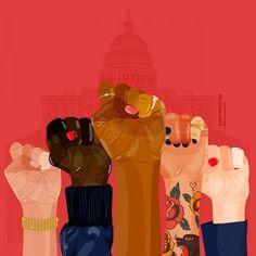 Anna Sudit womens rights are human rights Anna Sudit Frauenrechte sind Menschenrechte Little Buddha, Feminist Af, Feminist Quotes, Amy Poehler, Intersectional Feminism, Illustrations, Social Justice, Women Empowerment, Girl Power