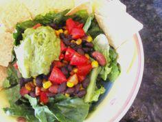 Tex-Mex Taco Salad. #vegan   neatandnutritious.com