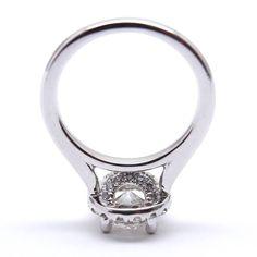 Good morning Vancouver!  Here is a diamond engagement ring upside down. #wedding #weddingring #diamond #engagementring #engagement #ring #pretty #Vancouverisawesome #diamonds #downtown #vancity #vancitybuzz #love #britishcolumbia #bridal #bride #vancouverisland #engaged #vancouverdiamonds #yvr #gastown #richmond #bc #highfashion #burnaby #Coquitlam #abbotsford #Coquitlam #Vancouver