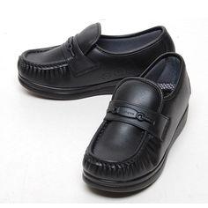 Black 4cm Wedge Platforms Nursing Comfort Loafers Women Shoes US 4.5~8 #Unbranded #LoafersMoccasins