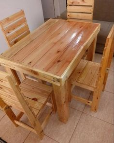Pallet furniture ideas And outdoor projects Pallet dining table The post Pallet furniture ideas And outdoor projects appeared first on Pallet Ideas. Wooden Pallet Furniture, Wooden Pallets, Rustic Furniture, Diy Furniture, Outdoor Furniture, Furniture Design, Primitive Furniture, Recycled Pallets, Furniture Removal