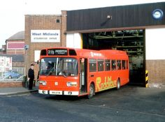 Blue Bus, Red Bus, Double Decker Bus, Bus Coach, West Midlands, Coaches, Buses, Birmingham, Transportation