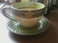 Claddaugh Tea Cup. I want this! Preferably as a coffee cup
