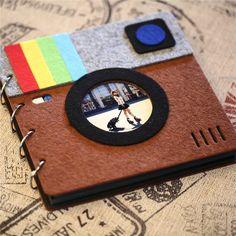 Scrapbooking - DIY Fotoalbum Instagram Style