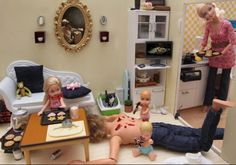 omg. way to teach your kids barbie. This is so messed up, but so amazing at the same time