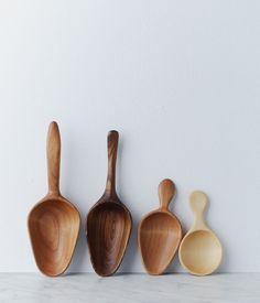 Beautiful wooden scoops from Herriott Grace | Trendland: Fashion Blog & Trend Magazine