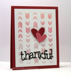 Online Card Class: Stencilled and Muse Challenge #51