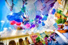Those beautiful balloons! <3
