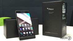 BlackBerry Priv Review: A feature-packed Android smartphone with some BlackBerry bits - Tech2