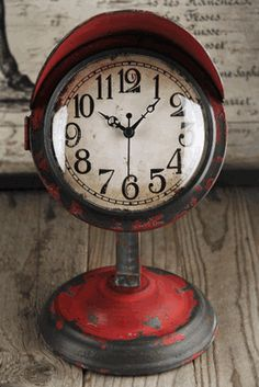 I bought this today on sale for $22! Retro Table Clock Red $31.99
