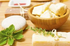 Shea butter soap- Melt and Pour Soap from Natures Garden.  Easy way to make creative soaps without working with lye. #sheasoap