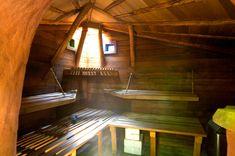a cob sauna