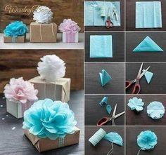 Sposób na pakowanie prezentów, nie tylko tych ślubnych!