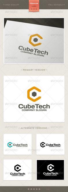 Cube Tech   Logo Design Template Vector #logotype Download it here: http://graphicriver.net/item/cube-tech-logo-template/4641339?s_rank=940?ref=nesto
