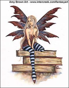Amy Brown Book Fairy