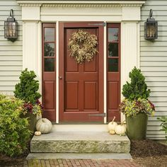 Is your front porch ready to greet trick-or-treaters this Halloween? Do you tend to go the more traditional or spooktacular route? Fall Planters, Front Porch, Garage Doors, To Go, Proven Winners, Traditional, Halloween, Garden, Outdoor Decor