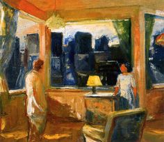 Yellow Lampshade, Elmer Bischoff 1969