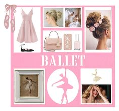 """Ballet"" by footsteps-in-the-sand ❤ liked on Polyvore featuring John-Richard, Salvatore Ferragamo, Michael Kors, Rembrandt Charms, Essie, Emma Watson, Pink, dance and ballet"