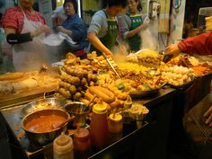 Hong Kong street food store! All the weird but yummy food, you name it!