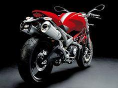 Ducati Monster 696 - Rear View