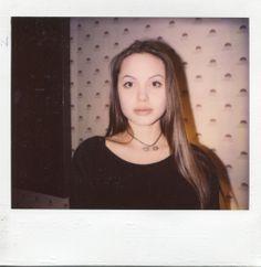 Young angelina at sassy magazine 1993