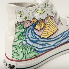 In Their Shoes - Custom Converse Sneakers (Charity Auction)