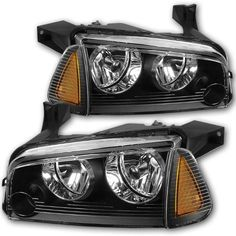 Headlight Assembly Replacement For 2006 2010 Dodge Charger Headlamps Headlight Assembly Headlights Headlamp