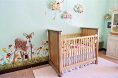 quarto de bebê estilo campestre