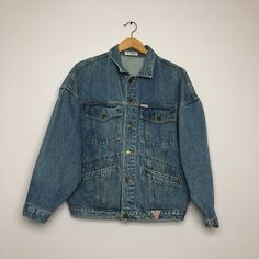 a9c23581dd351e Vintage Guess denim jacket. Has some wear but overall in great condition.  Size men s. Depop