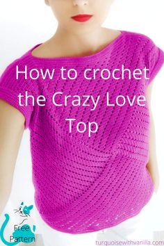 Crochet Summer Tops, Crochet Fall, Crochet Woman, Knit Crochet, Crochet Sweaters, Crochet Tops, Crochet Tunic Pattern, Crochet Blouse, Crochet Top Patterns